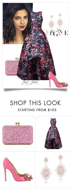 """""""Untitled #132"""" by jost-julia ❤ liked on Polyvore featuring Sophie Hulme, ML Monique Lhuillier, GEDEBE and Anne Sisteron"""