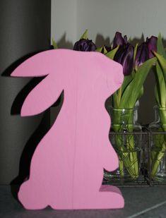 Osterhasen - Hase rosa groß Ostern - ein Designerstück von SIMOMIBU bei DaWanda