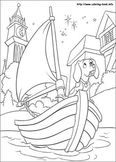 101 Dalmations coloring page. Disney