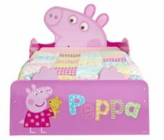 Peppa Pig Snuggletime Toddler Bed | HelloHome | Worlds Apart