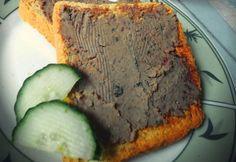 Házi pikáns májkrém Meatloaf, Banana Bread, Beef, Desserts, Food, Meat, Tailgate Desserts, Deserts, Essen