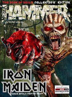 Actus Métal & Rock du 18 août 2015 - Iron Maiden Metal Hammer