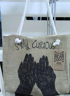 Stay Curious. $45.00, via Etsy.