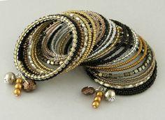bransoletki - szkło-zamówienie Bangles, Bracelets, Jewelry, Jewlery, Bijoux, Schmuck, Jewerly, Bracelet, Jewels