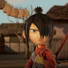 Superbly animated, genuinely touching and directed with a sensitive and lyrical hand. Animation Series, 3d Animation, Samurai, Stop Motion Movies, Laika Studios, Kubo And The Two Strings, Cartoon Crazy, Walt Disney Studios, Kill Bill