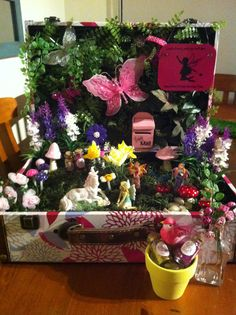 Fairy garden for my 4 year old girl miss airlee