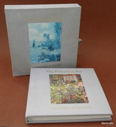 Book Postcard As Art by Alexandra Stoddard LE 179/1000 Signed 1985 with Case & Cards
