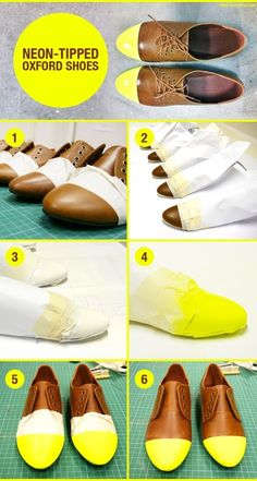 Or by painting the toes. | 22 DIY Ways To Make Your Whole Life Neon