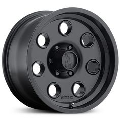 KMC XD Series XD300 Satin Black Wheels