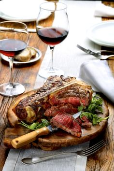 This would be my last meal request.   Bistecca Fiorentina | T-bone #Steak, Toscana