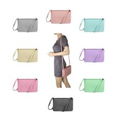 Luxury Trio Clutch Women's Bag Borsetta Shoulder Bag Crossover Shoulder Bag