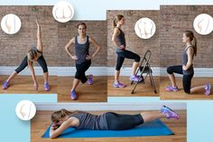 Toning workouts that cater to teach different butt type can help tone your glutes and lift your butt.