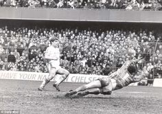 At the double: Tony Cottee scored two second-half goals in West Ham's 4-0 win over Chelsea...
