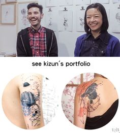 Jared + Kizun: A Daily Reminder | tattrx