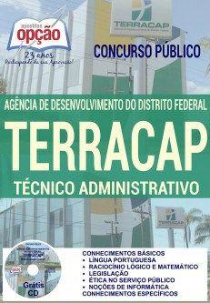 Apostila Concurso TERRACAP Técnico Administrativo PDF, Download