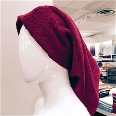 Save on visually merchandising in the Bath Department by eliminating mannequin hair pieces all together. Wrap a towel around each head… Hair Pieces, Wigs, Towel, Retail, Bath, Display, Fashion, Hair Wigs, Bathing