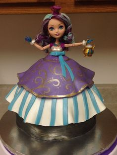 Ever After High Madeline Hatter Cake