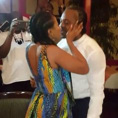 "Kanu Nwakwos Younger Brother Proposes To Linda Ikejis Kid Sister Laura Ikeji (Video)    Popular blogger Linda Ikeji whos thirthy-six and still single broke the news to us some moments ago that her little sister Laura Ikeji got engaged tonight.  Her man of about a year former footballer and younger brother to football legend Kanu Nwankwo Ogbonna Kanu asked her to marry him and she said yes!  Laura Ikeji engaged to Kanu Nwankwo's brother Ogbonna  0:00/1:00  <iframe width=""600"" height=""359""…"