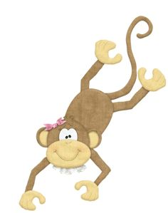 """Photo from album """"Goin' bananas"""" on Yandex. Barrel Of Monkeys, Cartoon Monkey, Angel Drawing, Clip Art Pictures, Monkey Business, Cute Images, Tigger, Safari, Disney Characters"""