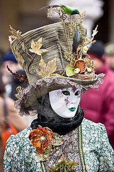 venice carnival costumes | Venice Carnival Costume Royalty Free Stock Image - Image: 6598916
