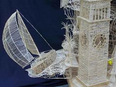 Curiosities: San Fransisco Toothpick Sculpture