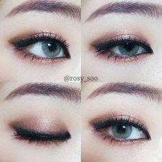 If you would like transform your eyes and improve your natural beauty, finding the best eye make-up techniques will help. You want to be sure you wear make-up that makes you look even more beautiful than you already are. Korean Makeup Look, Korean Makeup Tips, Asian Eye Makeup, Korean Makeup Tutorials, Korean Makeup Ulzzang, Korean Makeup Products, Ulzzang Makeup Tutorial, Beauty Products, Asian Make Up