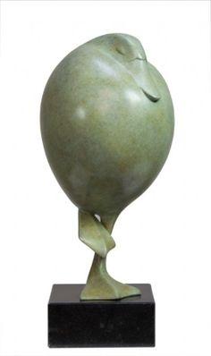 'Eend','Duck', - bronze sculpture by Evert den Hartog Galerie De Twee Pauwen Art Sculpture, Stone Sculpture, Modern Sculpture, Animal Sculptures, Abstract Sculpture, Ceramic Animals, Ceramic Art, Clay Birds, Art Folder