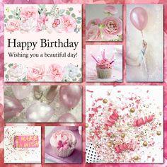 K.E. 02012017 Pink Happy Birthday