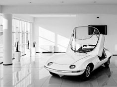 surfacemag: A 1963 Chevrolet Testudo, inside the studio Italdesign Giugiaro in Turin. Photo by Helenio Barbetta.