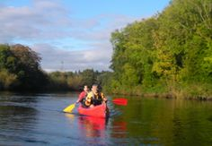 """""""Paddle your own Canoe"""" holidays on the beautiful, peaceful and interesting Barrow river. Enjoy a holiday with everything you need supplied both in the form of equipment and also local information and suggested stop offs from our newest member 'Go with the Flow'. http://ecoactiveireland.com/canoe-and-camp-holidays-ireland/"""