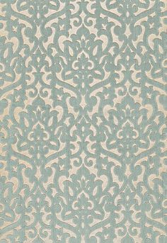 Luxembourg Velvet Schumacher Fabric that needs to go on my dining room chairs... that i don't have.