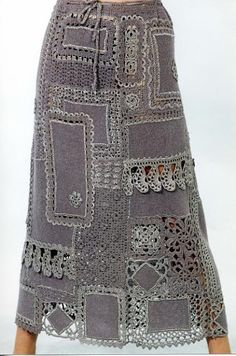 Crochet Skirt Pattern Fabrics New Ideas