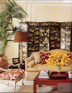 Chinoiserie anyone!  This colour combo is just so awesome!  Alessandra Branca