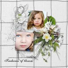 """TENDERNESS OF BLOSSOM"" Kit by Vanilla M. Designs http://wilma4ever.com/index.php?main_page=product_info&cPath=52_440&products_id=31714 With the kind permission Marta Everest Photography https://www.facebook.com/MartaEverestPhotography/timeline"