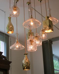 Put a bulb in it 24 upcycled pendant lights made from for Second hand lampen