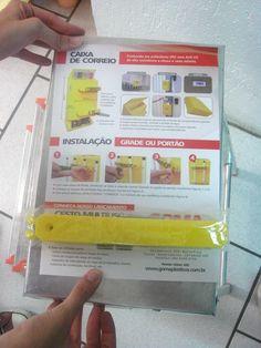 manual - caixa amarela