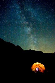 Tent and Stars, Baker River, Washington    Photo Credit- Andy Porter Photography