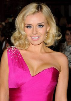 Opera star on DWTS ~ Katherine Jenkins...flawless makeup