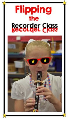 Flipping the Recorder classroom-blogpost on how to use technology to help students move at their own pace in Recorder Karate