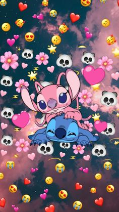 Iphone Wallpaper Themes, Butterfly Wallpaper Iphone, Cartoon Wallpaper Iphone, Cute Cartoon Wallpapers, Cute Galaxy Wallpaper, Cute Emoji Wallpaper, Cute Patterns Wallpaper, Cute Disney Wallpaper, Lilo And Stitch Drawings