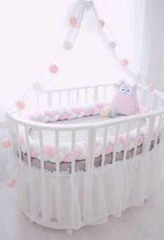 modern baby bed design ideas for nursery furniture sets 2019 Modern Baby Bedding, Baby Bedding Sets, Baby Bedroom, Baby Room Decor, Baby Boy Nurseries, Baby Cribs, Baby Beds, Girl Nursery, Girl Room