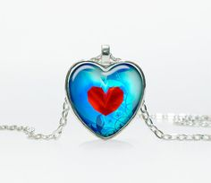 Heart container  legend of zelda pendant Heart by TheJewelryIsland, $13.50