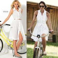Sew the Look; McCall's M6696 shirtdress