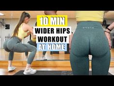 Summer Body Workouts, Gym Workout Tips, Hip Workout, Workout Challenge, Workout Videos, At Home Workouts, Stomach Workouts, Fitness Herausforderungen, Fitness Workout For Women