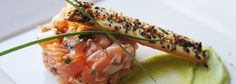 Tartar de salmón | Recetas Thermomix Tartar de Salmón | Receta Thermomix