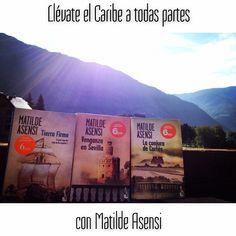 Compartid en Instagram las fotos de vuestros libros de Matilde Asensi con el hashstag #MatildeAsensi --- Share your Instagram photos of your Matilde Asensi's books using the hashtag #MatildeAsensi   http://instagram.com/matildeasensi