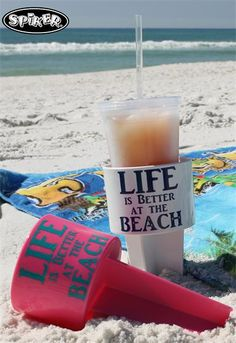 Enjoy the Great Outdoors! Why settle for an imitation? Get the Original: SPIKER Lifestyle Holder. Because: Life is Better at the Beach :) You can find Spiker Lifestyle Holders at your local boutique online, get it personalized. (a/k/a sand spikes, beach spikes....) contact us for a local dealer near you: www.spikercompany.com
