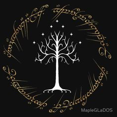 TShirtGifter presents: Ringed White Tree of Gondor