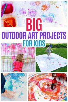 BIG outdoor art proj