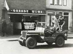 15 April 1945 liberation of Leeuwarden Netherlands, unidentified CFPU film team. Nationaal Archief photo